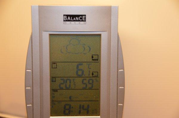 Koude start van een ogenschijnlijk mooie dag, gelost om 10.20 uur